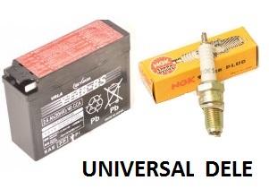 Universal dele